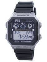 Casio Youth Series Illuminator Chronograph Alarm Digital AE-1300WH-8AV AE1300WH-8AV Men's Watch