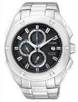 Citizen Eco-Drive Chronograph Super Titanium CA0210-51E Mens Watch