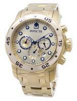 Invicta Pro-Diver Chronograph Gold Dial 0074 Men's Watch