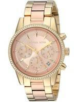 Michael Kors Ritz Chronograph Quartz Diamond Accent MK6475 Women's Watch