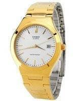 Casio Quartz Analog Gold Tone White Dial MTP-1170N-7ARDF MTP-1170N-7AR Men's Watch