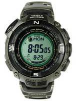 Casio Protrek Triple Sensor PRG-130T-7VDR PRG130T-7V PRG130 Tide Graph Tough Solar Titanium Watch