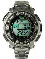 Casio Protrek Solar Power PRG-250T-7 Titanium Mens Watch
