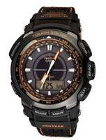 Casio Protrek Tough Solar PRG-510GB-4D PRG-510GB PRG-510GB-4 Triple Sensor Mens Watch