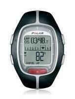 Polar Running Heart Rate Monitor Watch RS200 Black