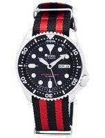 Seiko Automatic Diver's 200M NATO Strap SKX007J1-NATO3 Men's Watch