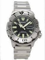 Seiko Divers Automatic Black Monster SKX779K SKX779 Men's Watch