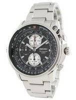 Seiko Chronograph Flight Master SNAB67P1 SNAB67P SNAB67 Alarm Men's Watch
