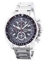Seiko Alarm Chronograph Flight Master SNAD05 SNAD05P1 SNAD05P Men's Pilot Watch