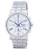 Seiko Premier Chronograph Alarm Quartz SNAF73 SNAF73P1 SNAF73P Men's Watch
