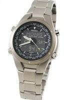 Seiko Sportura Chronograph World Timer Titanium SNJ009P1 SNJ009P