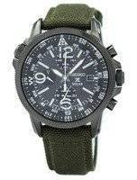 Refurbished Seiko Prospex Solar Military Alarm Chronograph SSC295 SSC295P1 SSC295P Men's Watch