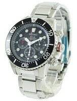 Refurbished Seiko Solar Chronograph Divers SSC015P1 SSC015P Men's Watch
