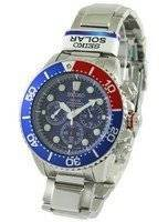 Refurbished Seiko Solar Chronograph Divers SSC019P1 SSC019P Men's Watch