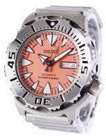 Refurbished Seiko Japan Made Automatic Divers Orange Monster SRP309J SRP309 Men's Watch