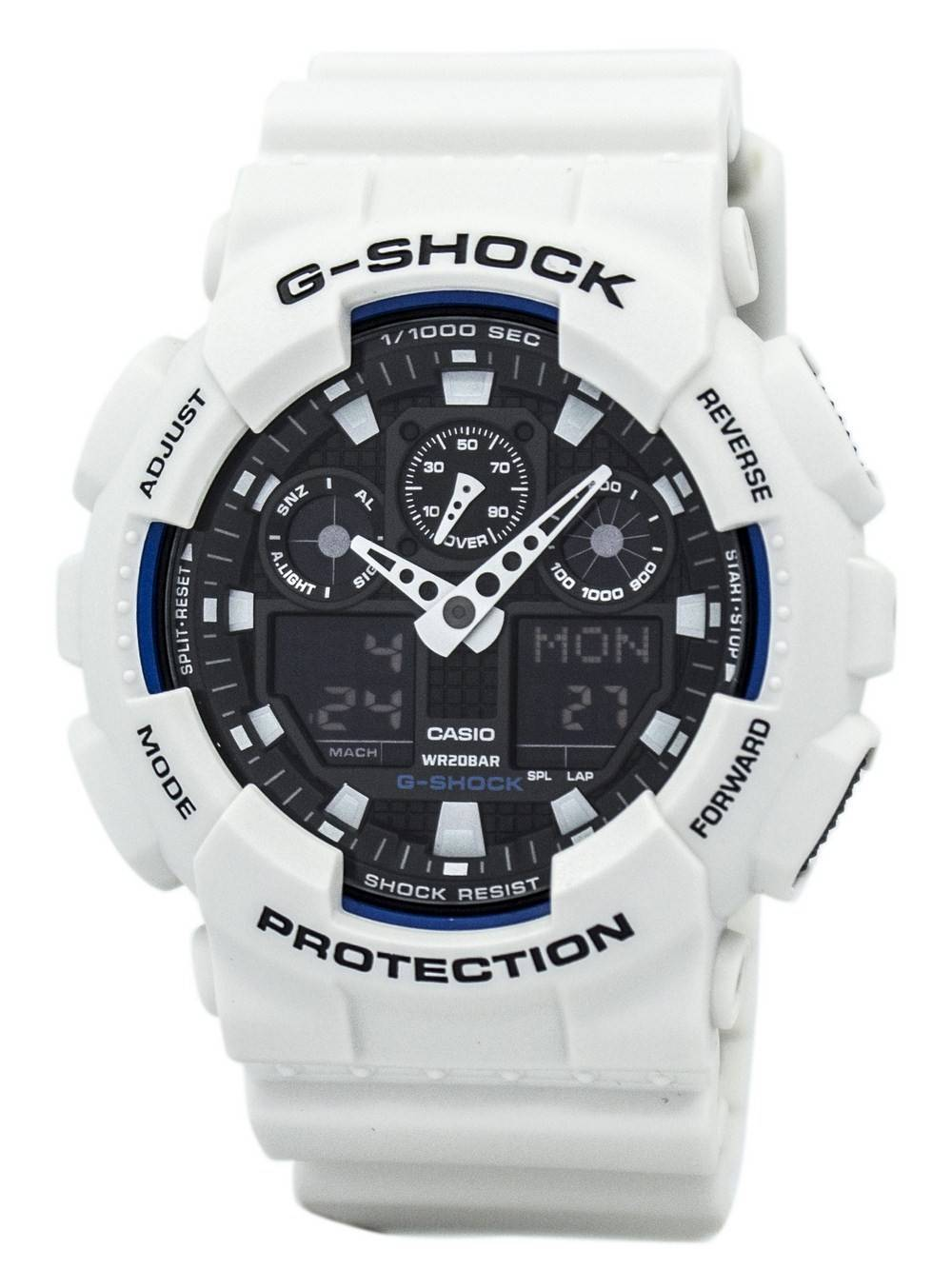 f753fcab01 Casio G-Shock Analog Digital Shock Resistant GA-100B-7A GA100B-7A Mens Watch