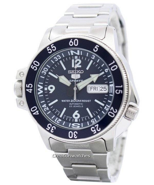 Seiko 5 Sport Automatic Japan Made SKZ209 SKZ209J1 SKZ209J Men's Watch - Click Image to Close