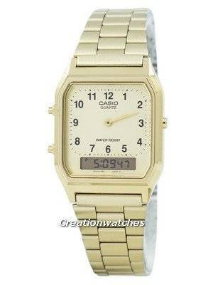 Casio Quartz Analog-Digital AQ-230GA-9B AQ230GA-9B Men's Watch
