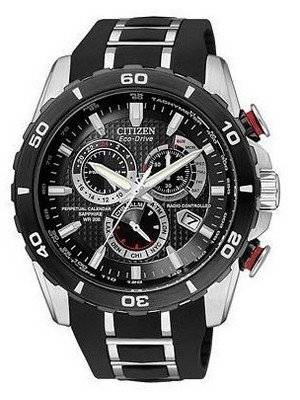 Citizen Limited Edition Atomic Perpetual Eco-Drive Chronograph AT4025-01E Mens Watch