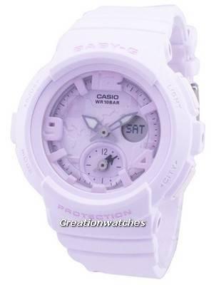 Casio Baby-G World Time Analog Digital BGA-190BC-4B BGA190BC-4B Women's Watch