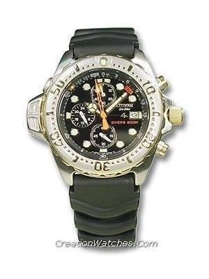 Citizen Eco-drive Promaster Diving BJ2014-04E BJ2014 Watch