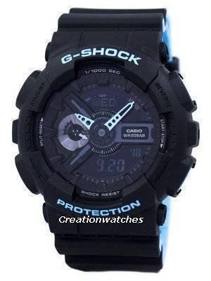 Casio G-Shock Shock Resistant World Time Alarm Analog Digital GA-110LN-1A GA110LN-1A Men's Watch
