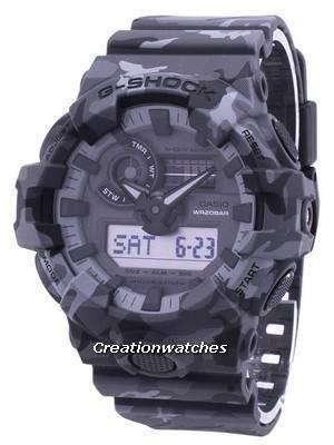 Casio Illuminator G-Shock Shock Resistant Analog Digital GA-700CM-8A GA700CM-8A Men's Watch