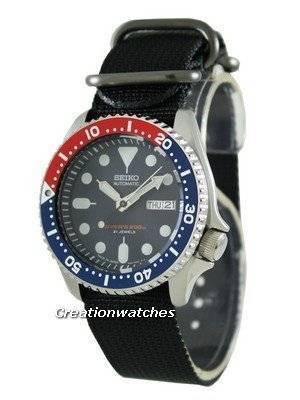 Seiko Automatic Divers 200M SKX009J8-NyB