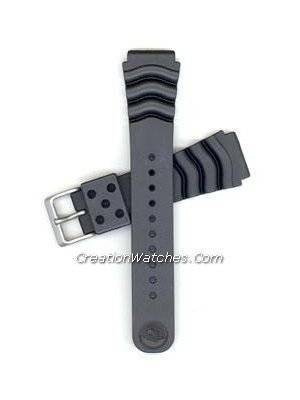 Original Seiko Rubber strap for Seiko SKX007, SKX009, SKX011