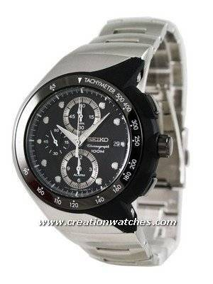 Seiko Chronograph SNAD43 SNAD43P1 SNAD43P Men's Watch