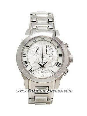 Seiko Men' s Premier Kinetic Chronograph Watch SNL039P1