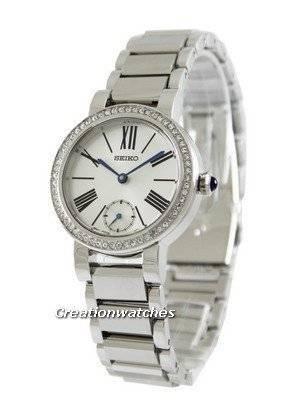 Seiko Swarovski Crystals SRK027P1 SRK027P SRK027 Women's Watch