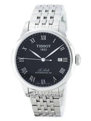 Tissot Le Locle Powermatic 80 Automatic T006.407.11.053.00 T0064071105300 Men's Watch