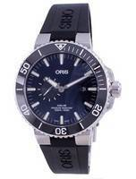 Oris Aquis Small Second Date Automatic Diver's 01-743-7733-4135-07-4-24-64EB 500M Men's Watch