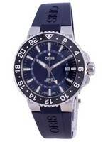 Oris Aquis GMT Date Automatic Diver's 01-798-7754-4135-07-4-24-65EB 300M Men's Watch