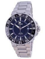 Oris Aquis GMT Date Automatic Diver's 01-798-7754-4135-07-8-24-05PEB 300M Men's Watch