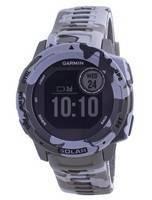 Garmin Instinct Solar Tactical Edição Líquen Camo Silicone Pulseira 010-02293-06 Relógio Multiesportivo