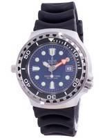 Relação de 2ª geração Free Diver Hélio-Safe Quartz 1038EF102V-BLU-V02 1000M Relógio Masculino