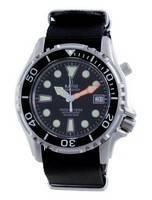 Ratio Free Diver Helium Safe Nylon Automatic Diver's 1066KE20-33VA-BLK-var-NATO4 1000M Men's Watch