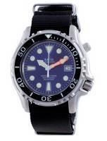 Ratio Free Diver Helium Safe Nylon Automatic Diver's 1066KE20-33VA-BLU-var-NATO4 1000M Men's Watch