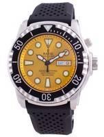 Relogio sem mergulho Diver Helium-Safe 1000M Sapphire Automatic 1068HA90-34VA-YLW Relógio de homem