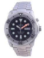 Relógio masculino Ratio Free Diver Helium-Safe automático 1068MD96-34VA-BLK 1000M