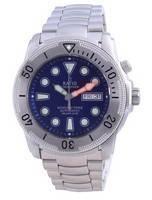 Relógio masculino Ratio Free Diver Helium-Safe automático 1068MD96-34VA-BLU 1000M