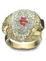 Swarovski 1084462 Nebulous Women's Ring