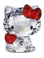 Swarovski 1096878 Hello Kitty Red Apple Figurine