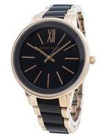 Anne Klein 1412BKRG Quartz Women's Watch