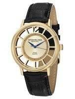 Stuhrling Original Winchester Del Sol Swiss Quartz Gold-Tone 388S.333531 Men's Watch
