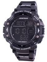 Armitron Sport 408309BLK Quartz Dual Time Men's Watch