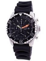 Ratio 200m Diver Quartz Chronograph Sapphire 48HA90-17-CHR-BLK Men's Watch