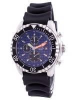 Relogio 200m Diver Quartz Chronograph Sapphire 48HA90-17 + Relógio Masculino CHR-BLU